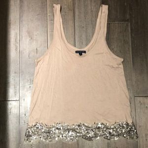 American Eagle Sequin Tank!